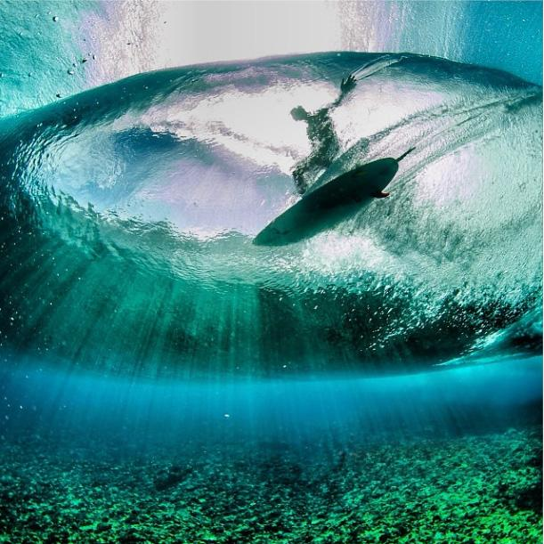 Teahupoo Underwater